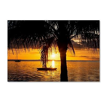 Trademark Fine Art Philippe Hugonnard 'Peaceful Sunset' 12