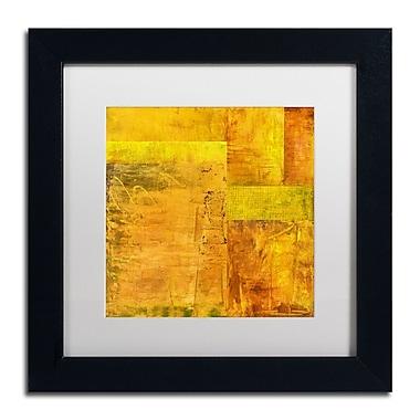 Trademark Fine Art Michelle Calkins 'Essence of Yellow 2' 11