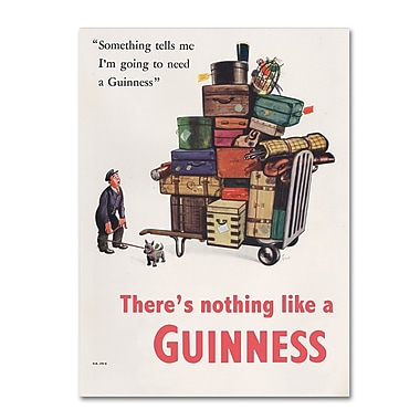 Trademark Fine Art Guinness Brewery 'There's Nothing Like A Guinness II' 14