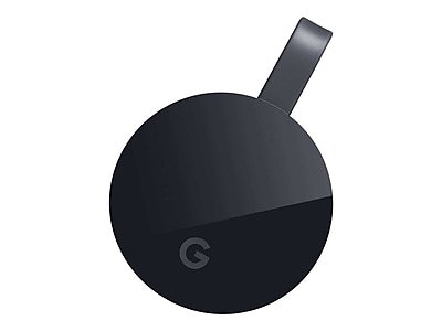 Google Chromecast Ultra GA3A00403A14 Streaming Media Player, Black