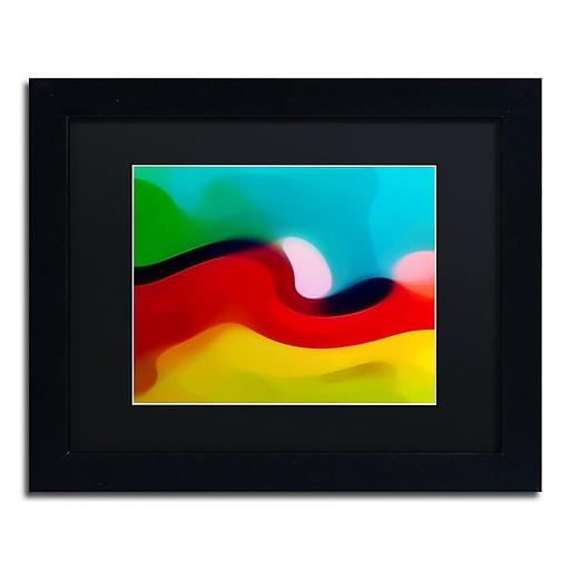 """Trademark Fine Art Amy Vangsgard 'Moon Resting 3' 11"""" x 14"""" Matted Framed (886511934672)"""