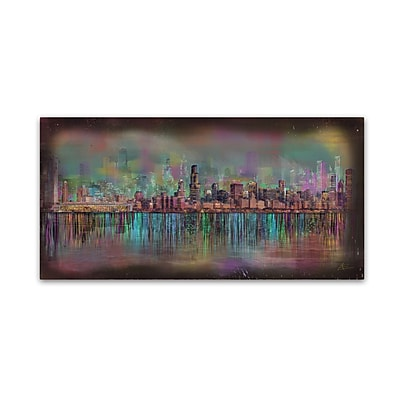 Trademark Fine Art Ellicia Amando 'Chicago' 10