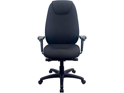 Tempur-Pedic 6400 Fabric Computer and Desk Chair, Black (TP6400-BLK)
