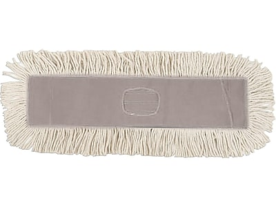 O'Dell Cotton Dust Mop Head, Natural, 12/Carton (DM365SP)