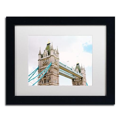 "Trademark Fine Art Ariane Moshayedi 'London Tower Bridge' 11"" x 14"" Matted Framed (190836270002)"