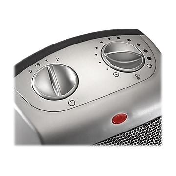 Lasko 1500-Watt Ceramic Portable Space Heater, Silver (754200)