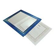 NuDell Vinyl/Cardboard Certificate Frames, Leatherette 2/Pack (21201)