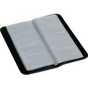 Samsill Card File, Black, 160 Card Capacity (80850)