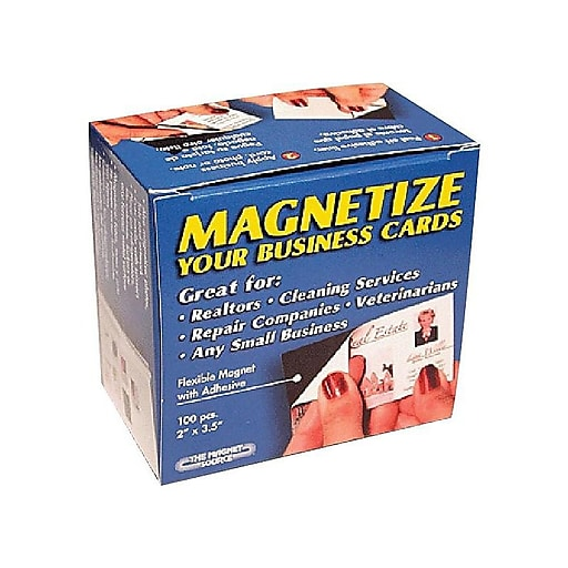 Staples Business Card Magnets 100pack Staples