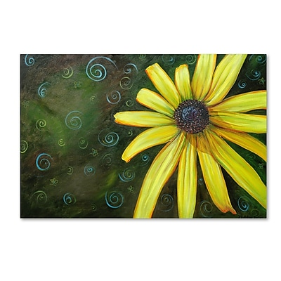 Trademark Fine Art Jennifer Redstreake 'Black Eyed Susan' 12