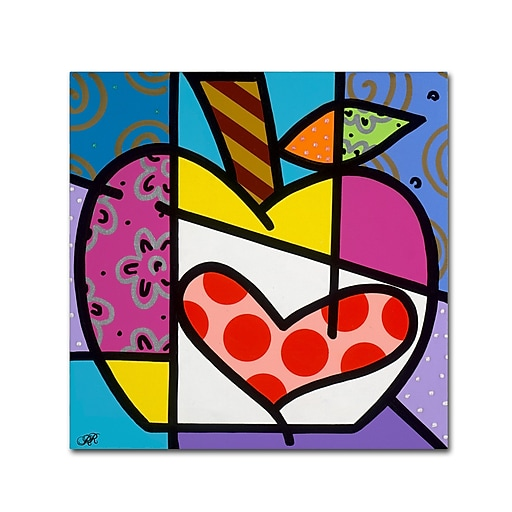 "Trademark Fine Art Roberto Rafael 'Big Apple III' 24"" x 24"" Canvas Stretched (190836279241)"