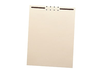 Smead Paperboard File Backs, Letter Size, Manila, 100/Box (35511)