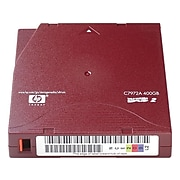 HPE Ultrium RW C7972A Data Cartridge, Red Labeling Printable