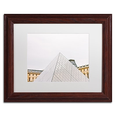 Trademark Fine Art Ariane Moshayedi 'The Louvre' 11