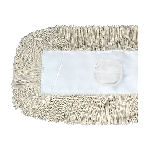 O'Dell Cotton Dust Mop Head, White (M365SP)