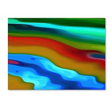 Trademark Fine Art Amy Vangsgard 'River Runs Through 2' 14