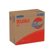 WypAll X70 Multifold Paper Towel, 1-Ply, 100 Sheets/Pack, 1000 Sheets/Carton (41455)
