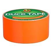 """Duck Heavy Duty Duct Tape, 1.88"""" x 15 Yds., Neon Orange (1265019)"""