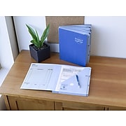 Smead Project Organizer, 10-Pocket Dividers, Letter Size, Navy/Lake Blue (89200)