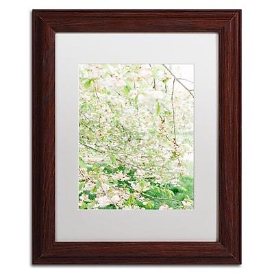 Trademark Fine Art Ariane Moshayedi 'White Cherry Blossom Trees 4' 11