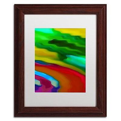 Trademark Fine Art Amy Vangsgard 'River Runs Through Vertical 3' 11