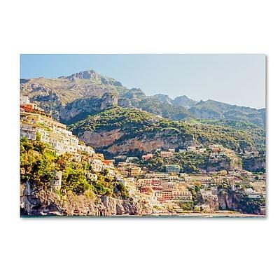 Trademark Fine Art Ariane Moshayedi 'Positano Amalfi Coast' 16