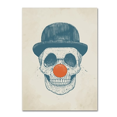Trademark Fine Art Balazs Solti 'Dead Clown' 14