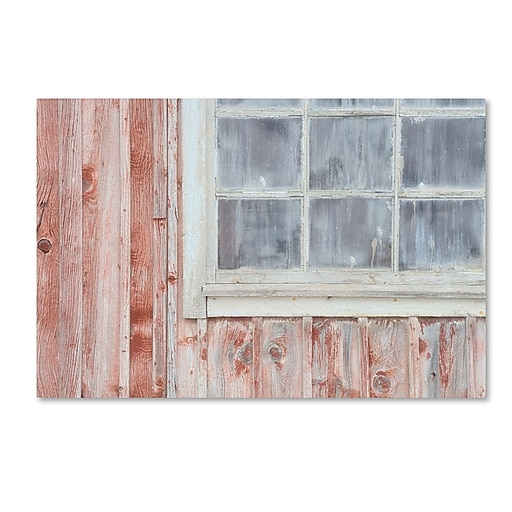 "Trademark Fine Art Cora Niele 'Little Windows I' 12"" x 19"" Canvas Stretched (190836313587)"
