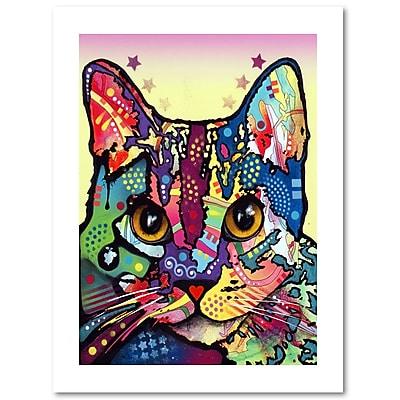 Trademark Fine Art Dean Russo 'Maya Cat' 18