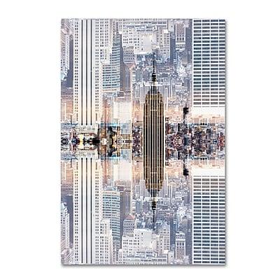 Trademark Fine Art Philippe Hugonnard 'New York Reflection IX' 12
