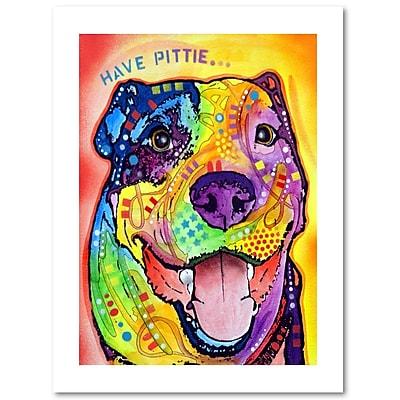 Trademark Fine Art Dean Russo 'Have Pittie' 18