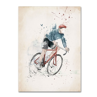 Trademark Fine Art Balazs Solti 'I Want To Ride My Bicycle' 14