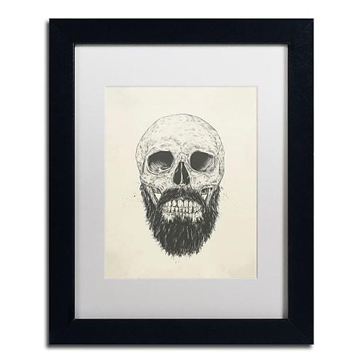 "Trademark Fine Art Balazs Solti 'The Beard Is Not Dead' 11"" x 14"" Matted Framed (190836178605)"