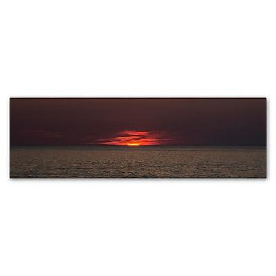 Trademark Fine Art Kurt Shaffer 'End of Another Beautiful Day' 6