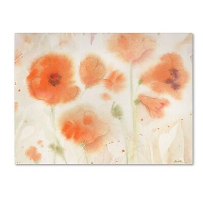 Trademark Fine Art Sheila Golden 'Orange Tones' 14