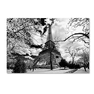 Trademark Fine Art Philippe Hugonnard 'Eiffel Tower' 12
