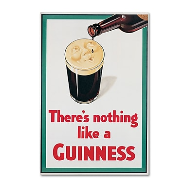 Trademark Fine Art Guinness Brewery 'There's Nothing Like A Guinness I' 12
