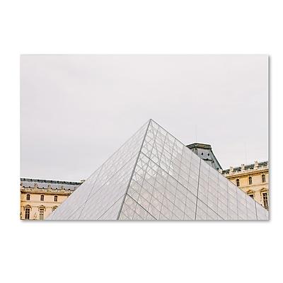 Trademark Fine Art Ariane Moshayedi 'The Louvre' 12
