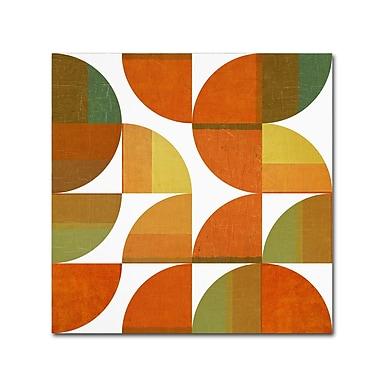 Trademark Fine Art Michelle Calkins 'Four Suns Quartered 3.0' 18