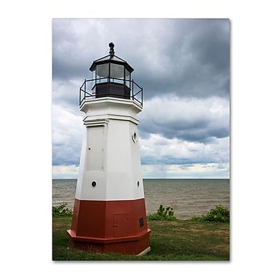 Trademark Fine Art Kurt Shaffer 'Vermillion Ohio Lighthouse' 14