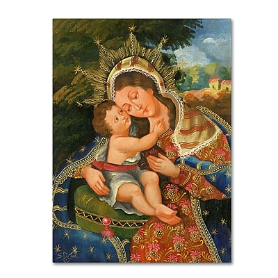 Trademark Fine Art Sergio Cruze 'The Virgin and Son III' 14