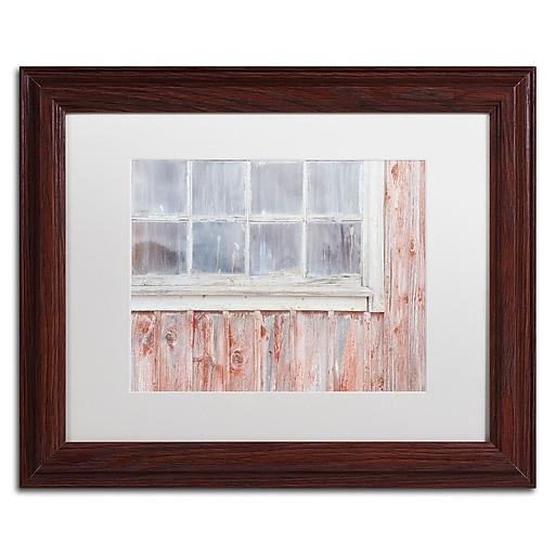 "Trademark Fine Art Cora Niele 'Little Windows II' 11"" x 14"" Matted Framed (190836313822)"