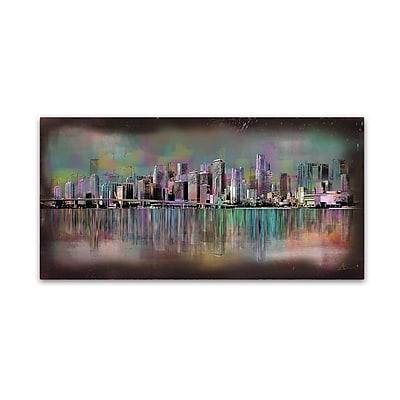 Trademark Fine Art Ellicia Amando 'Miami' 12