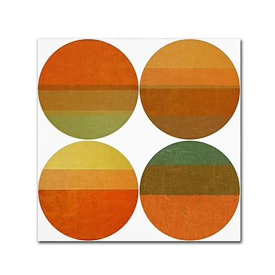 Trademark Fine Art Michelle Calkins 'Four Suns' 18