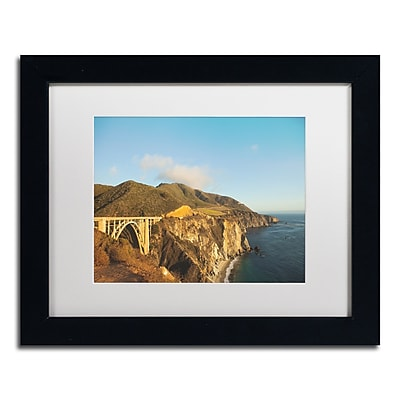 Trademark Fine Art Ariane Moshayedi 'Bixby Bridge' 11