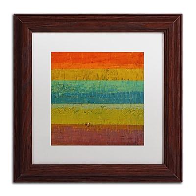 Trademark Fine Art Michelle Calkins 'Red Line' 11