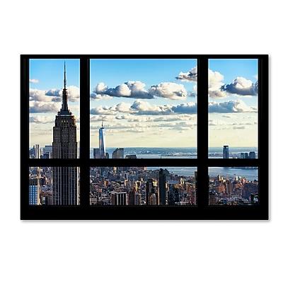Trademark Fine Art Philippe Hugonnard 'Window View Manhattan' 12