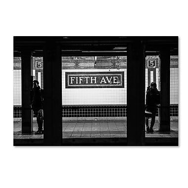 Trademark Fine Art Philippe Hugonnard 'Fifth Ave' 12