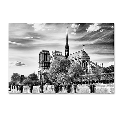 Trademark Fine Art Philippe Hugonnard 'Notre Dame Cathedral Paris' 12
