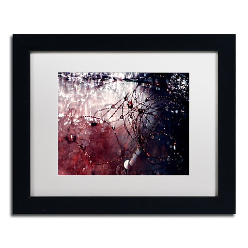 "Trademark Fine Art Beata Czyzowska Young 'Galaxy Far Away' 11"" x 14"" Matted Framed (190836183760)"